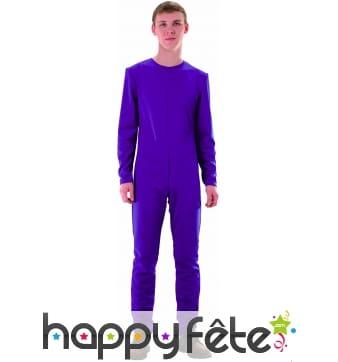 Justaucorps violet fonce