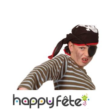 Kit accessoires de pirate pour enfant