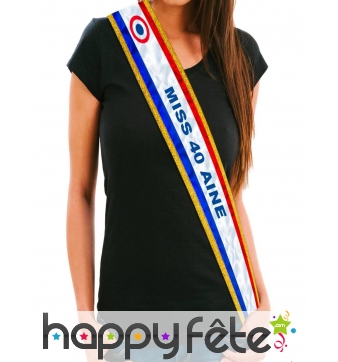 Kit anniversaire de Miss 40 ans