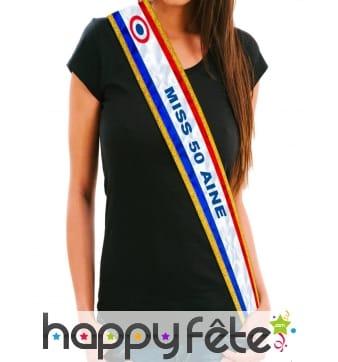 Kit anniversaire de Miss 50 ans