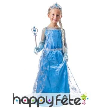 Kit accessoires princesse des neiges pour enfant