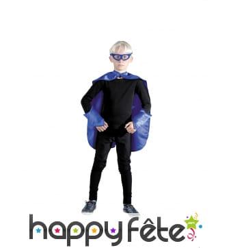 Kit bleu de super héros pour enfant