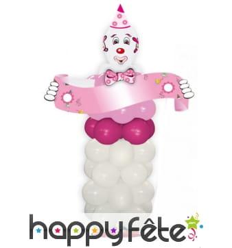 Kit ballons pour créer un grand clown