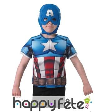 Kit captain america pour enfant