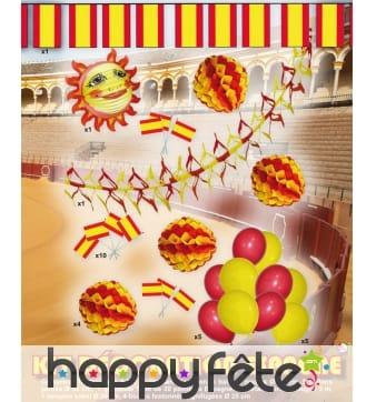 Kit complet de décorations Espagne