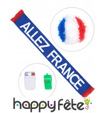 Kit complet de supporter Français