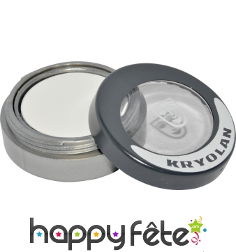 Kryolan, cake make up visage et corps blanc