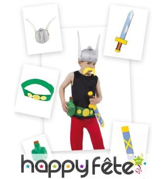 Kit d'accessoires Astérix pour enfant