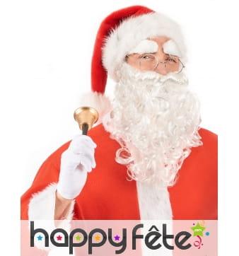 Kit d'accessoires de Père Noël pour homme