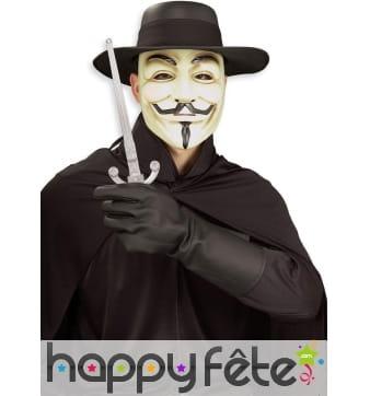 Kit d'accessoires V pour Vendetta