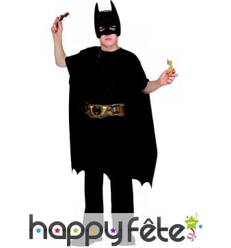 Kit de Batman pour enfant avec batarangs