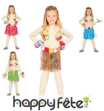 Kit de danseuse hawaïenne pour enfant
