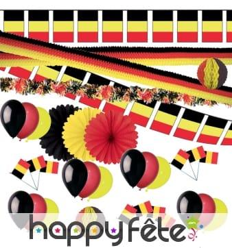 Kit de décorations Belgique