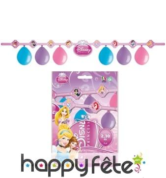 Kit de décorations princesses Disney
