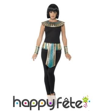 Kit de déguisement égyptien pour homme et femme