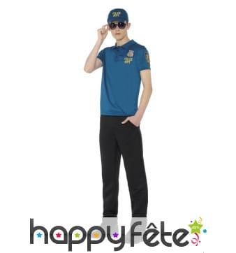 Kit déguisement de policier pour adolescent