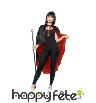 Kit de femme vampire avec cape réversible