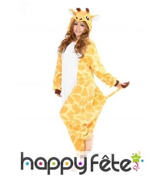 Kigurumi de girafe pour adulte