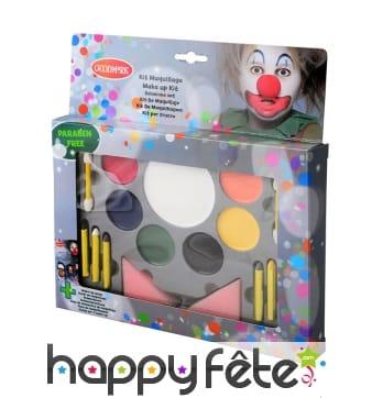 Kit de maquillage 7 couleurs pour enfant