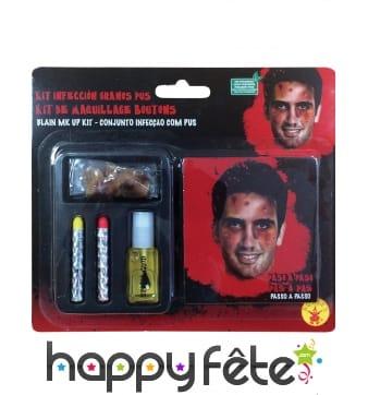 Kit de maquillage boutons
