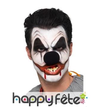 Kit de maquillage de clown tueur