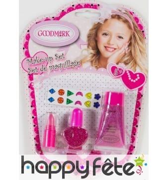 Kit de maquillage fashion pour petite fille
