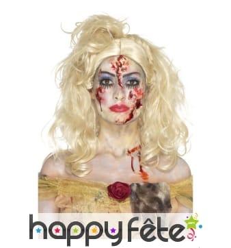 Kit de maquillage fée zombie