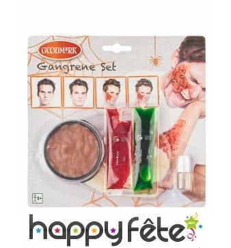 Kit de maquillage gangrène