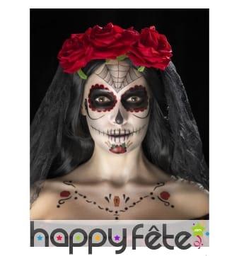 Kit de maquillage jour des morts, décalcomanies