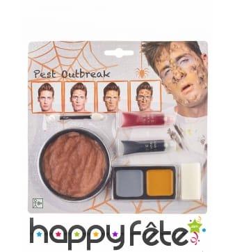 Kit de maquillage peste