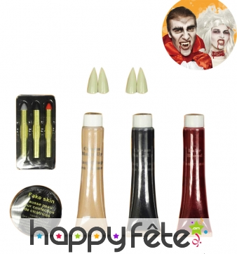 Kit de maquillage vampire de luxe