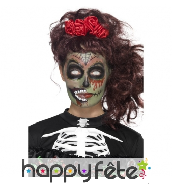 halloween maquillage zombie excellent tuto infirmiere zombie makeup with halloween maquillage. Black Bedroom Furniture Sets. Home Design Ideas