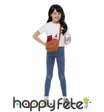 Kit de Matilda avec perruque pour petite fille