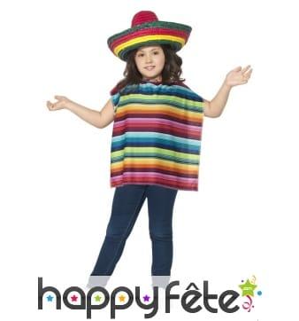 Kit déguisement mexicain pour enfant