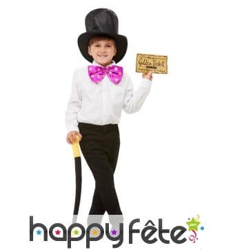 Kit de Willy Wonka pour enfant