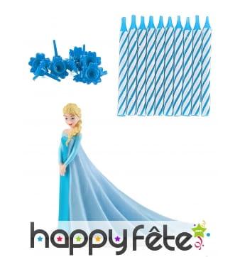 Kit Elsa de décoration de gâteau