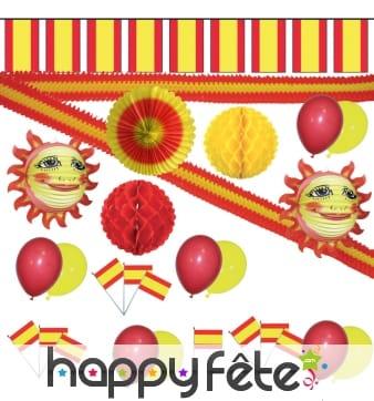 Kit Espagne de décorations