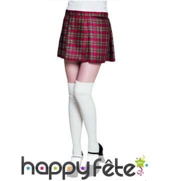 Kilt écossais pour femme