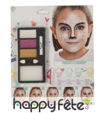 Kit maquillage animal de la foret pour enfant