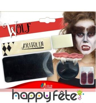 Kit maquillage de loup-garou