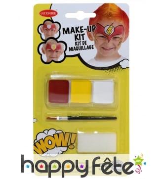 Kit maquillage de super héros pour enfant