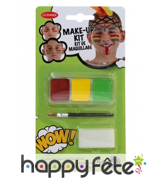 Kit maquillage indien pour enfant