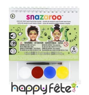 Kit maquillage mixte avec livret, Snazaroo