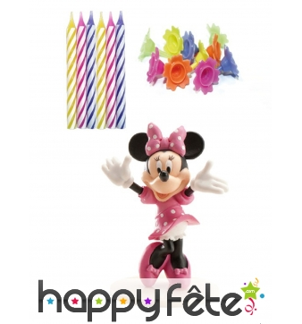 Kit Minnie Mouse de décoration de gâteau