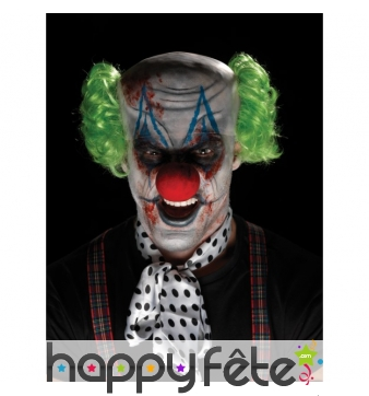 Kit pour maquillage de clown sinistre