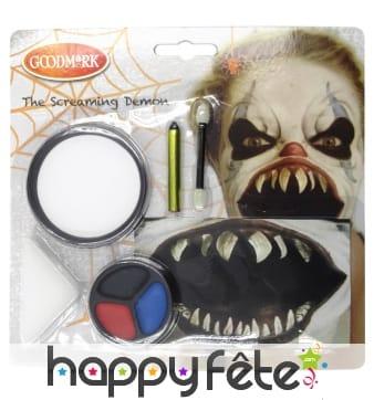 Kit pour maquillage de démon