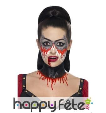 Kit pour maquillage de vampire au latex