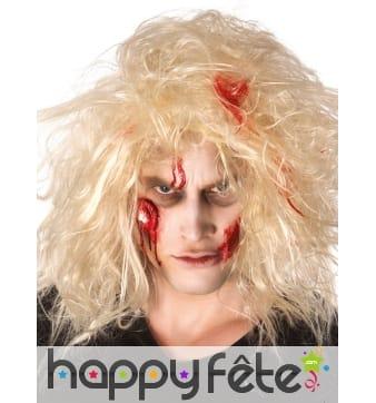 Kit pour maquillage de zombie avec faux sang