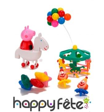Kit Peppa Pig pour décorations de gâteaux