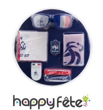 Kit pour supporter équipe de France FFF